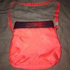 Underarmour bag peach/multicolor